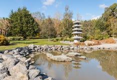 Harlings-Park, Blenheim, Neuseeland Stockfoto