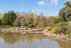 Harlings-Park in Blenheim, Neuseeland Stockfotografie