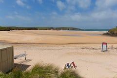 Harlyn Bay beach North Cornwall England UK near Padstow and Newquay Stock Image