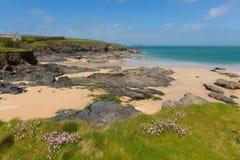 Harlyn Bay North Cornwall England UK near Padstow and Newquay Stock Image