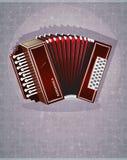 Harmônica de madeira Fotografia de Stock Royalty Free