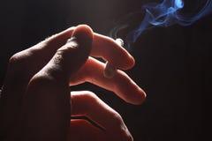 Harm of smoking Stock Photo