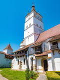 Harman Church Tower, Transylvania, Romania Stock Photography
