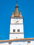Harman Church Tower, Transylvania, Romania Royalty Free Stock Photography