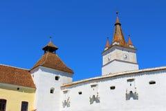Harman Church. In Transylvania in Romania Stock Photos