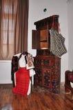 Harman Etnographic Museum, Interior Stock Images