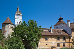 Harman Fortified Church Royalty Free Stock Image