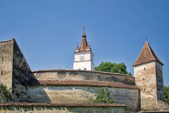 Harman Fortified Church Royalty Free Stock Photos