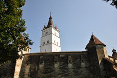 Harman Fortified Church Stock Photos
