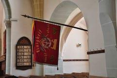 Harman fortified church, interior Stock Image