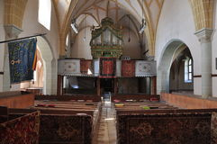 Harman fortified church, interior Royalty Free Stock Images
