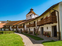 Harman Fortified Church interior walls Stock Photography