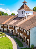 Harman Fortified Church interior walls Royalty Free Stock Images