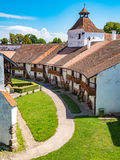 Harman Fortified Church interior walls Royalty Free Stock Photography