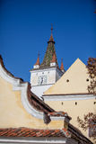 Harman Fortified Church. Located in the heart of Harman (Honigburg in German, meaning Honey Castle) village, this fortified church dates back to the 13th century Royalty Free Stock Images