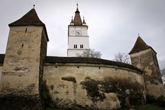 Harman Fortified Church Royalty Free Stock Photography