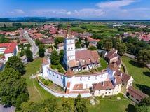Harman Fortified Church near Brasov, Romania Royalty Free Stock Photography