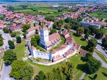Harman Fortified Church near Brasov, Romania Stock Images