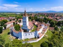 Harman Fortified Church near Brasov, Romania Royalty Free Stock Photos