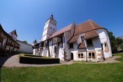 Harman Fortified Church in Transylvania near Brasov, Romania. Fi Stock Image