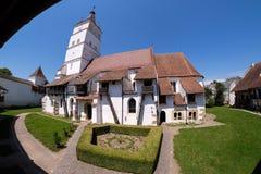 Harman Fortified Church in Transylvania near Brasov, Romania Stock Image