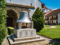Harman, Romania, July 2017: Harman Church frescoes chapel dating. Back to the 13th century Church monument dedicated to the fallen soldiers in the Second World Stock Image