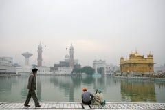 Harmandir Sahib, ¼ d'or Amritsar de Templeï Photo libre de droits