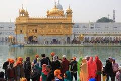 Harmandir Sahib (золотой висок) Стоковое Фото