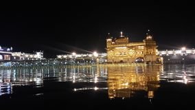 Harmandir sahib stock photography