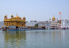 The Harmandir Sahib complex Royalty Free Stock Images