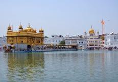 The Harmandir Sahib complex. The Harmandir Sahib (Golden Temple) complex in Amritsar, India Royalty Free Stock Images