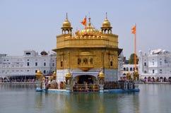 The Harmandir Sahib complex. The Harmandir Sahib (Golden Temple) complex in Amritsar, India Royalty Free Stock Photos