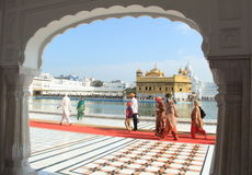 Golden Temple -2. Royalty Free Stock Photography