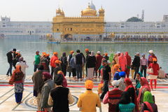 Harmandir Sahib (Golden Temple) Royalty Free Stock Photography