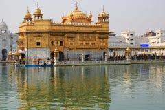 Harmandir Sahib (tempio dorato) Fotografia Stock