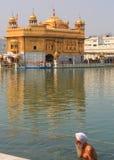 Harmandir Sahib (templo de oro) Foto de archivo