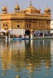 Harmandir Sahib (templo de oro) Imagen de archivo libre de regalías