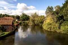 Harmhambrug, Salisbury royalty-vrije stock afbeeldingen