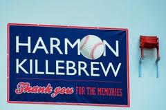 Harmon Killebrew`s Memorial Stock Image
