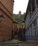 Harmoni av Tbilisi den gamla staden Royaltyfri Foto