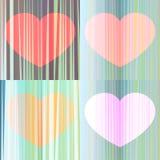 A harmonia dos corações Imagens de Stock