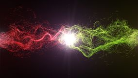 Harmonia i równowaga między energią Obrazy Stock