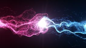 Harmonia i równowaga między energią Fotografia Stock