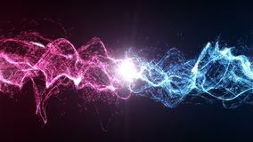 Harmonia i równowaga między energią zdjęcie stock