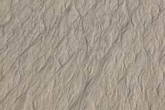 Harmonic pattern of a sandy beach. In detail stock images