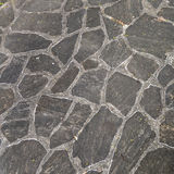 Harmonic pattern of slate tiles Royalty Free Stock Photo