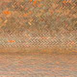 Harmonic red brick wall background Royalty Free Stock Image