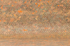 Harmonic red brick wall background Royalty Free Stock Photo