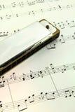 Harmonica Royalty Free Stock Photography