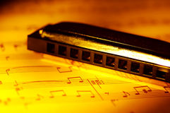 Harmonica Royalty Free Stock Image